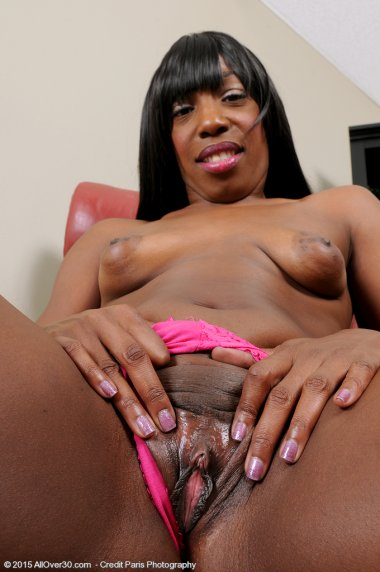Pepper Deville loves teasing us with that tight fit ebony body