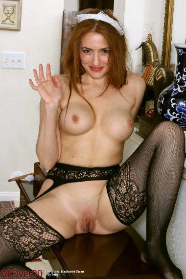 Stephanie Swan Super Hot Maid
