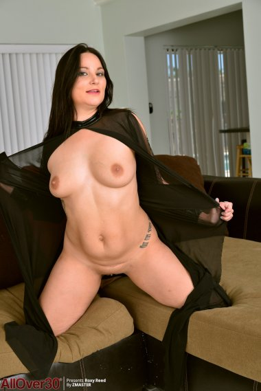 Sultry Dark Haired MILF Roxy Reed